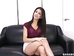 Veronica Rodriguez elations in the flesh give a dildo