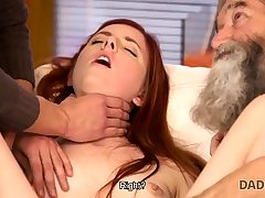 DADDY4K. Dirty dude fingers Girlfriend for cheating on him with...