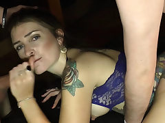 German enormous creampie cum inwards gangbang orgy